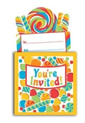 Sugar Rush Invitations (8/pkg)