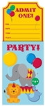Circus Time! Invitations (8/pkg)