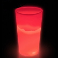 Red Glow Light Up Cup (12 oz)
