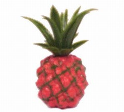 Plastic Pineapple Decoration