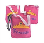 Princess Canvas Gift Bag