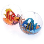 Assorted Inflatable Fish Beach Balls (1/pkg)