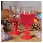 Plastic Lobster Glasses (1/pkg)
