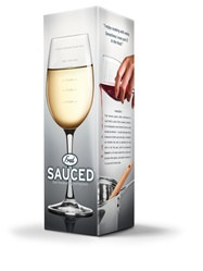 Measuring Wine Glass (1pkg)