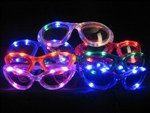 Assorted Flashing LED Sunglasses (1/pkg)