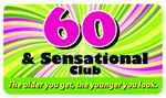60 and Sensational Club Plastic Pocket Card