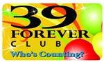 39 Forever Club Plastic Pocket Card
