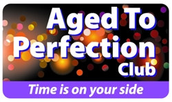 Aged To Perfection Club Plastic Pocket Card