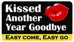 Kissed Another Year Goodbye Plastic Pocket Card (1/Pkg)