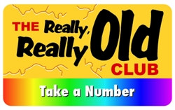 The Really, Really Old Club Plastic Pocket Card (1/Pkg)
