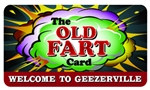 The Old Fart Plastic Pocket Card (1/Pkg)