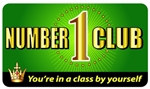 Number One Club Plastic Pocket Card (1/Pkg)