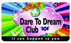 Dare To Dream Club Plastic Pocket Card (1/Pkg)
