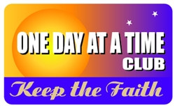 One Day At A Time Club Plastic Pocket Card (1/Pkg)
