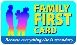 Family First Plastic Pocket Card (1/Pkg)