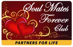 Soul Mates Forever Club Plastic Pocket Card (1/Pkg)
