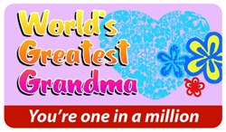World's Greatest Grandma Plastic Pocket Card (1/Pkg)