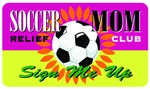 Soccer Mom Relief Club Plastic Pocket Card (1/Pkg)
