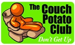 The Couch Potato Club Plastic Pocket Card (1/Pkg)