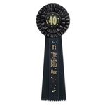 40 It's The Big One Deluxe Rosette Ribbon