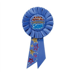 Extra Special Grandson Rosette Ribbon