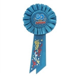 80 and Energized Rosette Ribbon