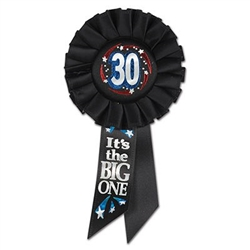 30 It's The Big One Rosette Ribbon