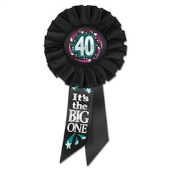 40 It's The Big One Rosette Ribbon