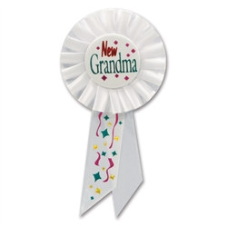 New Grandma Rosette Ribbon