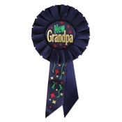 New Grandpa Rosette Ribbon