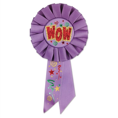 WOW Rosette Ribbon