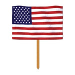 US Flag Yard Sign