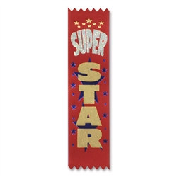 Super Star Value Pack Ribbons (10/Pkg)