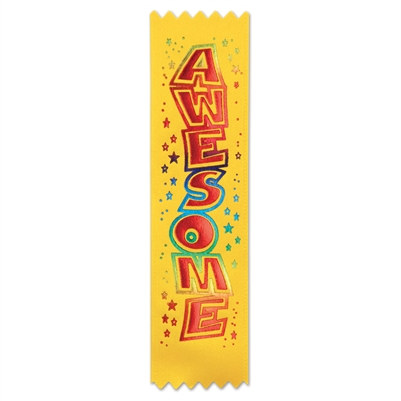 Awesome Value Pack Ribbons (10/Pkg)