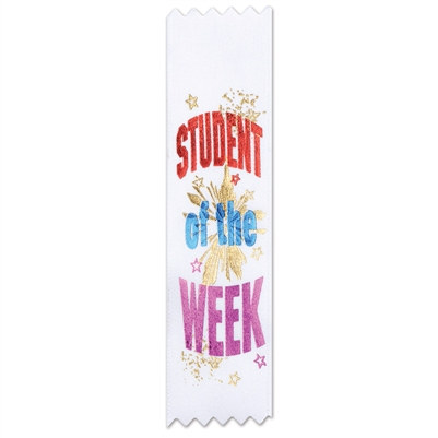 Student of the Week Value Pack Ribbons (10/Pkg)
