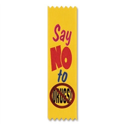 Say No To Drugs Value Pack Ribbons (10/Pkg)