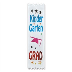 Kindergarten Grad Value Pack Ribbons (10/Pkg)