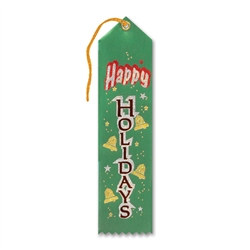 Happy Holidays Award Ribbon