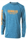 Long Sleeve Performance Blue Melon