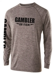 Long Sleeve Performance Gray Black