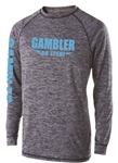 Long Sleeve Performance NAV-BLU