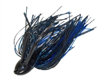 Double Weedguard Jig 1/2oz Black Blue