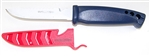 "Evolution 4"" Bait Knife/Utility Knife Red White and Blue"