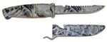 "Evolution 4"" Bait Knife/Utility Knife Camo"