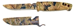 "Evolution 4"" Bait Knife/Utility Knife Dark Camo"