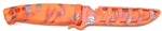 "Evolution 4"" Bait Knife/Utility Knife Hi Vis Orange Reaper"