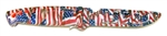 "Evolution 4"" Bait Knife/Utility Knife American Flag"
