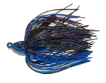 GOAT Swim Jig Black Blue Purple 1/2oz