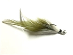 JTK Hair Jig 3/8oz Shad