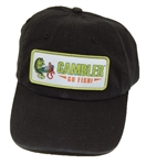 Richardson R55 Gambler Black Patch Hat